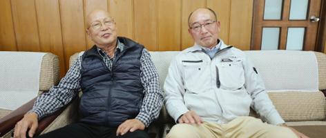 栄和会理事長 (有)田辺材木店 代表取締役 田辺 修一 柳田 昌